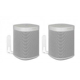 Vebos support mural Sonos One blanc couple