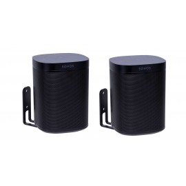 Vebos support mural Sonos One noir couple