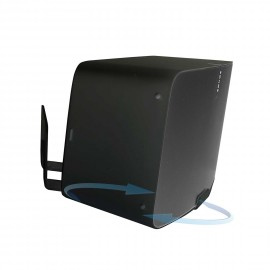 Vebos support mural Sonos Play 5 gen 2 tournant 20 degrés noir
