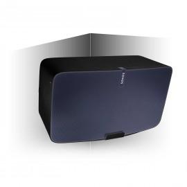 Vebos angle support mural Sonos Play 5 gen 2 noir 20 degrés