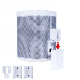 Vebos support mural Sonos Play 1 portable blanc