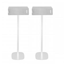 Pied d'enceinte Ikea Symfonisk horizontale blanc couple