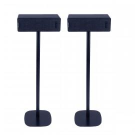 Pied d'enceinte Ikea Symfonisk horizontale noir couple