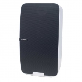 Vebos support mural Sonos Play 5 gen 2 blanc - vertical