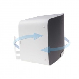 Vebos support mural Sonos Play 5 gen 2 tournant blanc