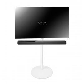Vebos Pied d'enceinte télévision Bose Soundbar 500 blanc