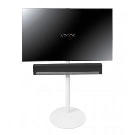 Vebos Pied d'enceinte télévision Sonos Playbar blanc