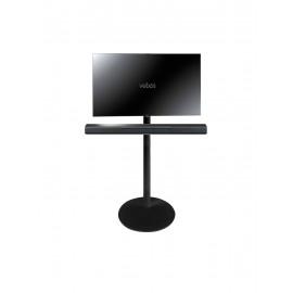 Vebos Pied d'enceinte télévision Yamaha Musiccast Bar 400 noir