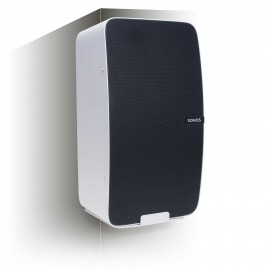 Vebos angle support mural Sonos Play 5 gen 2 blanc - vertical