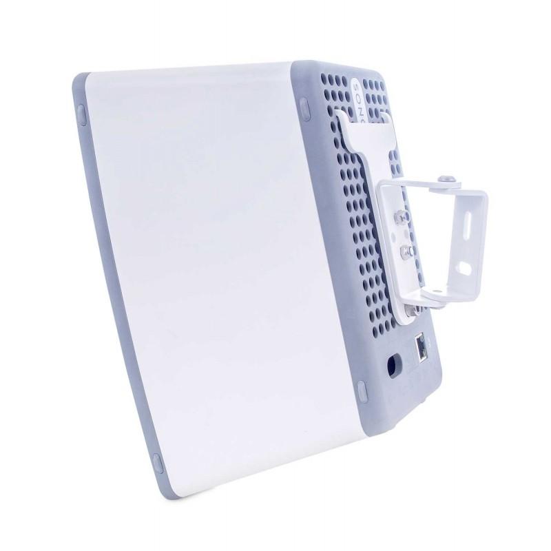 Vebos support mural Sonos Play 3 blanc 15 degrés