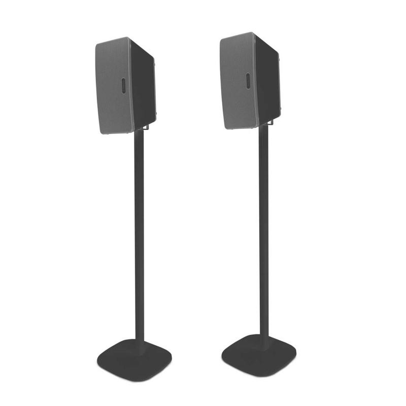 Pied d'enceinte Sonos Play 3 noir couple