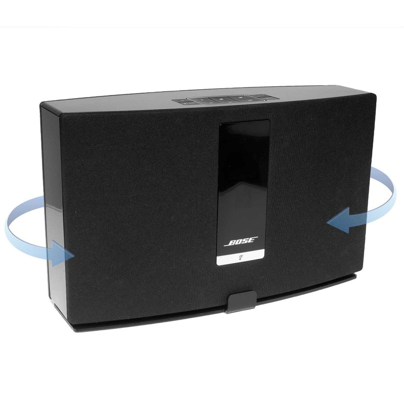 Vebos support mural Bose Soundtouch 20 tournant noir